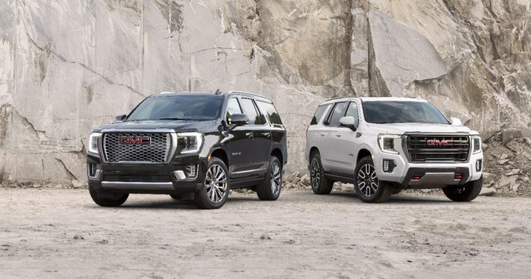 2018 All-New GMC Terrain SLT (Left) and Denali (Right)