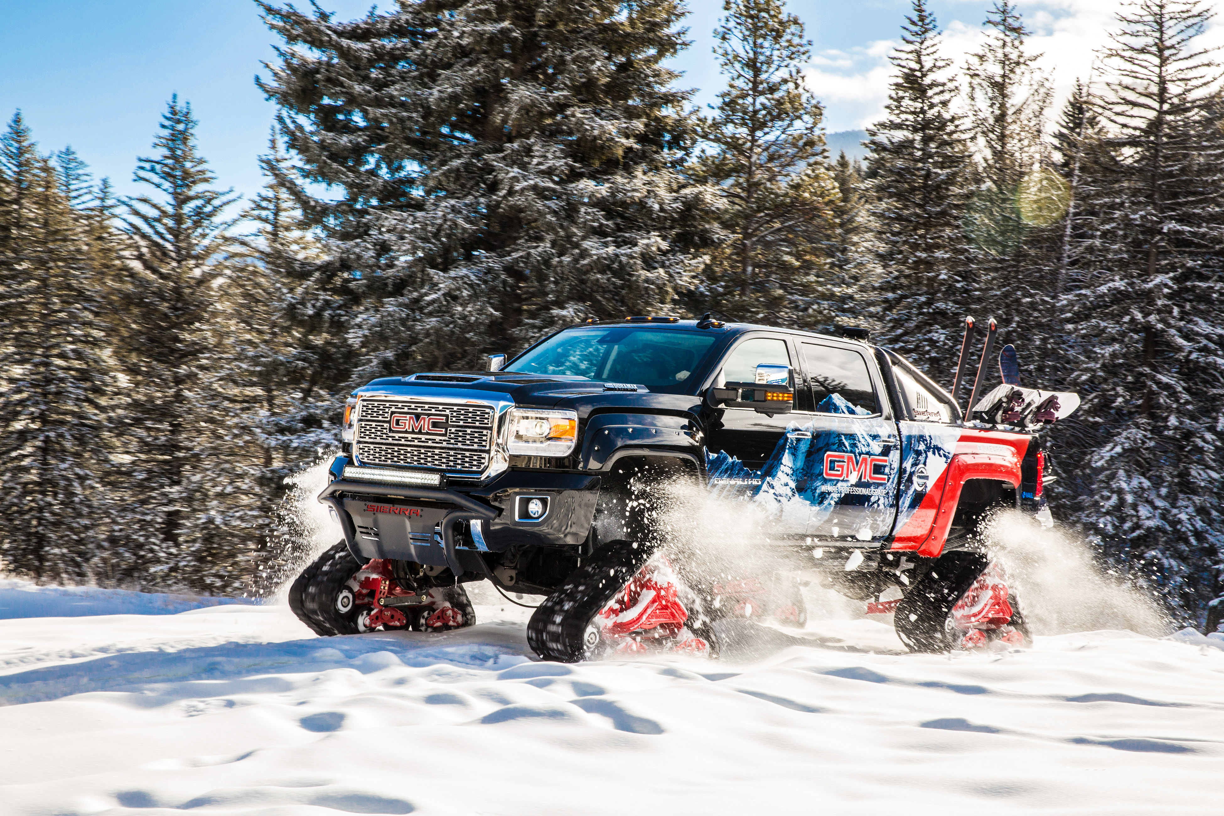 Gmc Sierra All Mountain Concept Conquers Uncharted Territory At Vail
