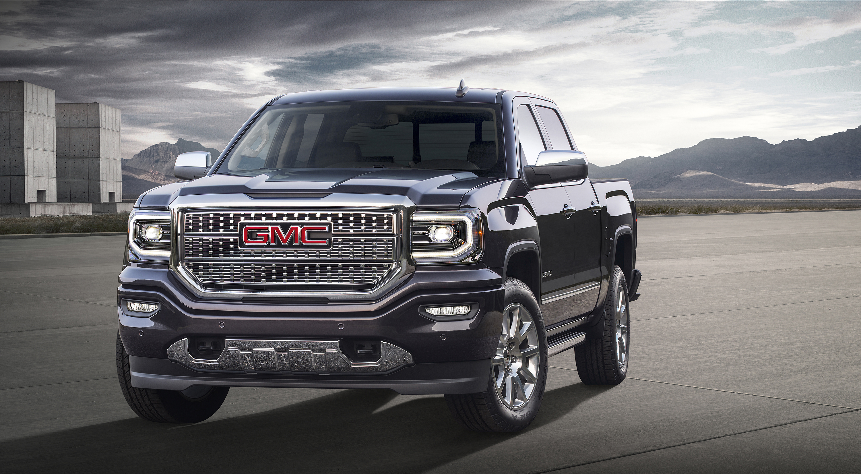 slideshow pickup sierra features photos more denali grill view gmc