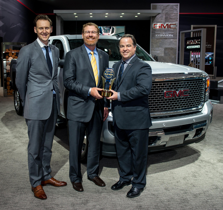 GMC Receives Three Key Awards at New York Auto Show