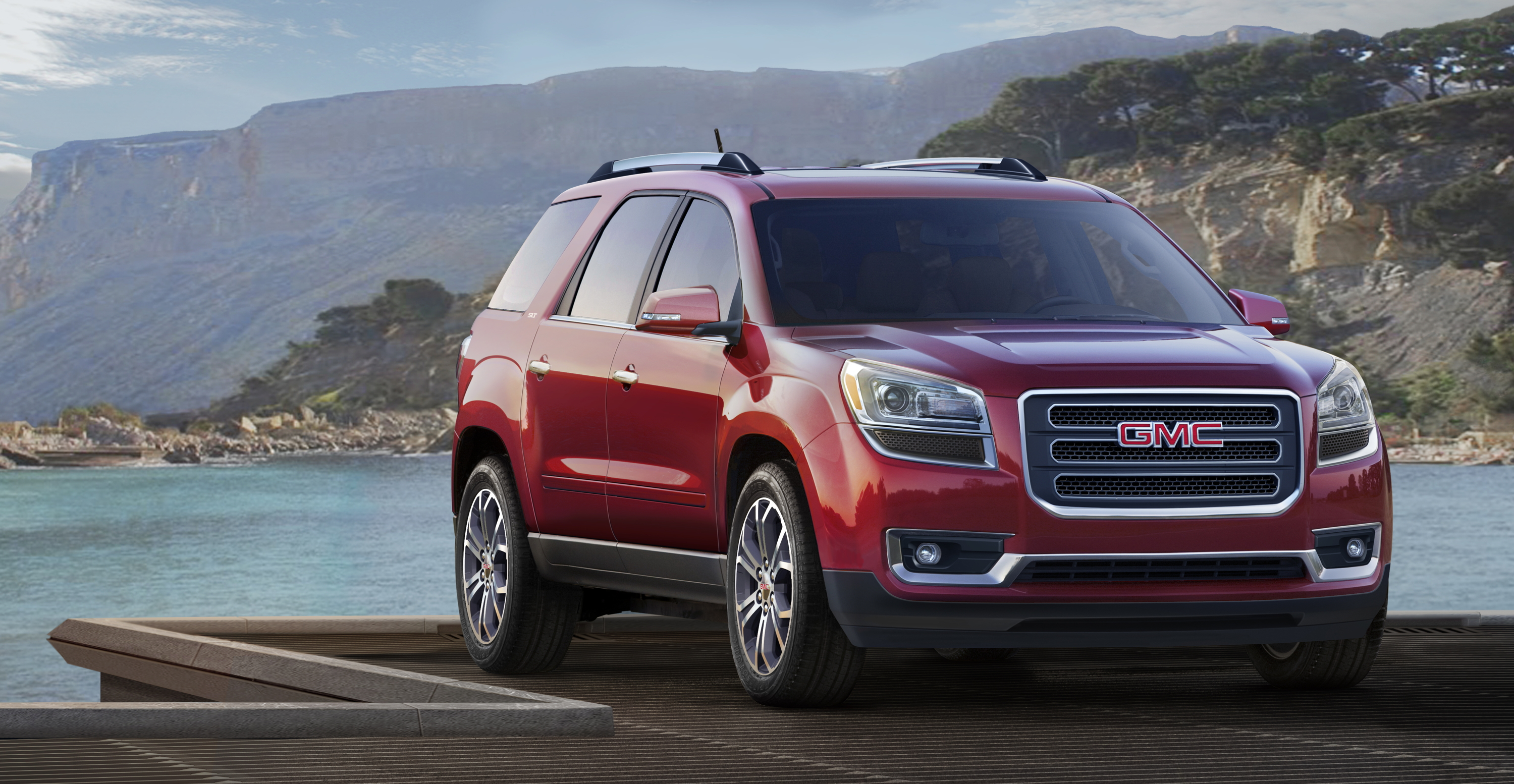 yaro illinois on the by at photos chicago feb gmc auto and display denali february in show review acadia