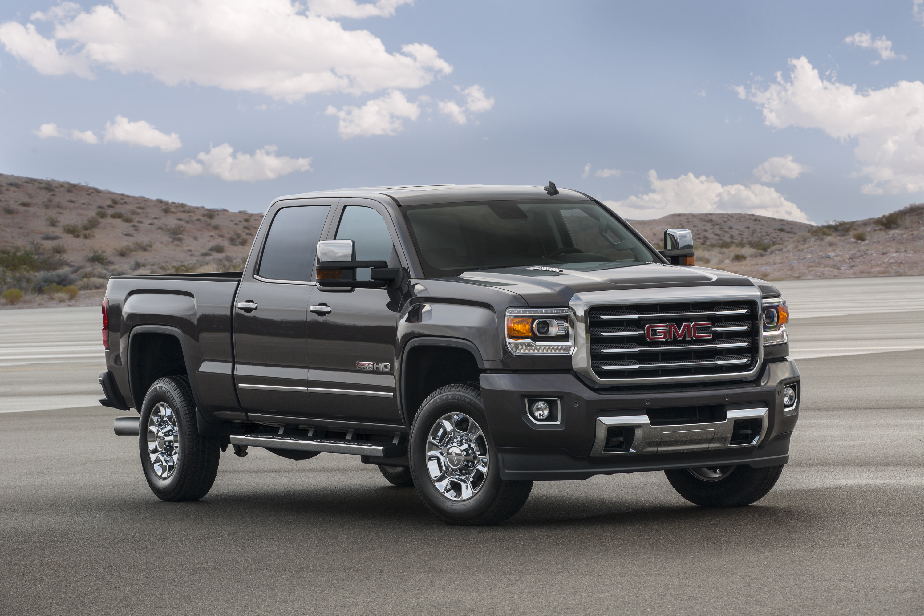 Gmc Introduces 2015 Sierra All Terrain Hd